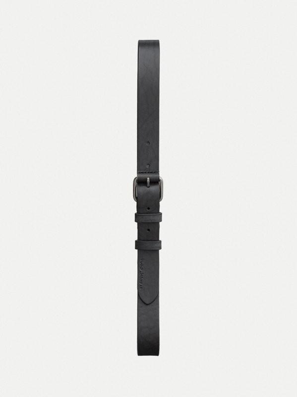 Dwayne Leather Belt Black