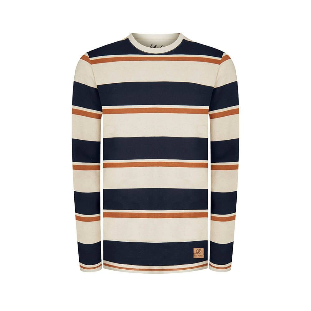 Captains Hemp Sweater Blue/ White