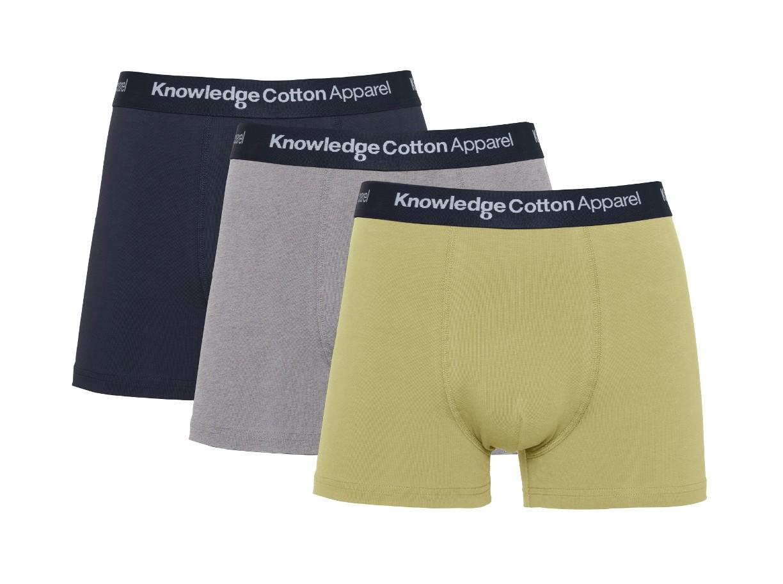 MAPLE 3 pack underwear Sage (light usty green)