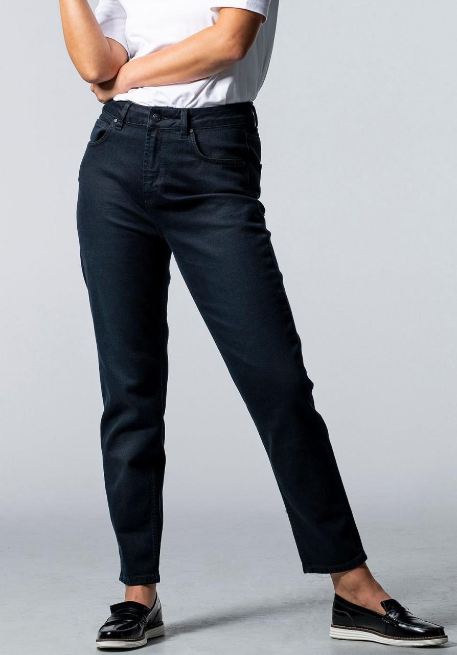 Mom Jeans CARPINE used black