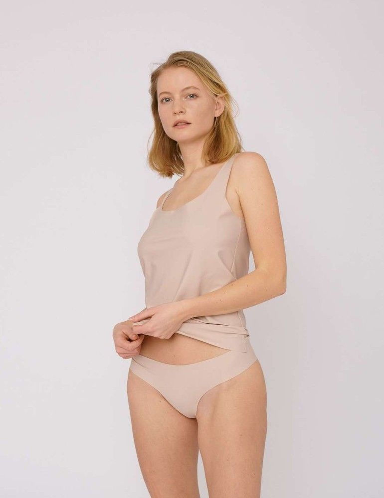 Invisible Cheeky Briefs 2-pack Rose Nude
