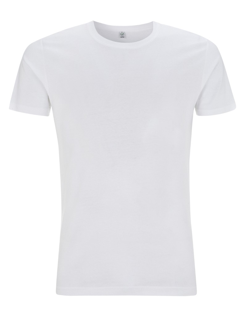 Earth Positive Ms Slim-Fit T-Shirt white