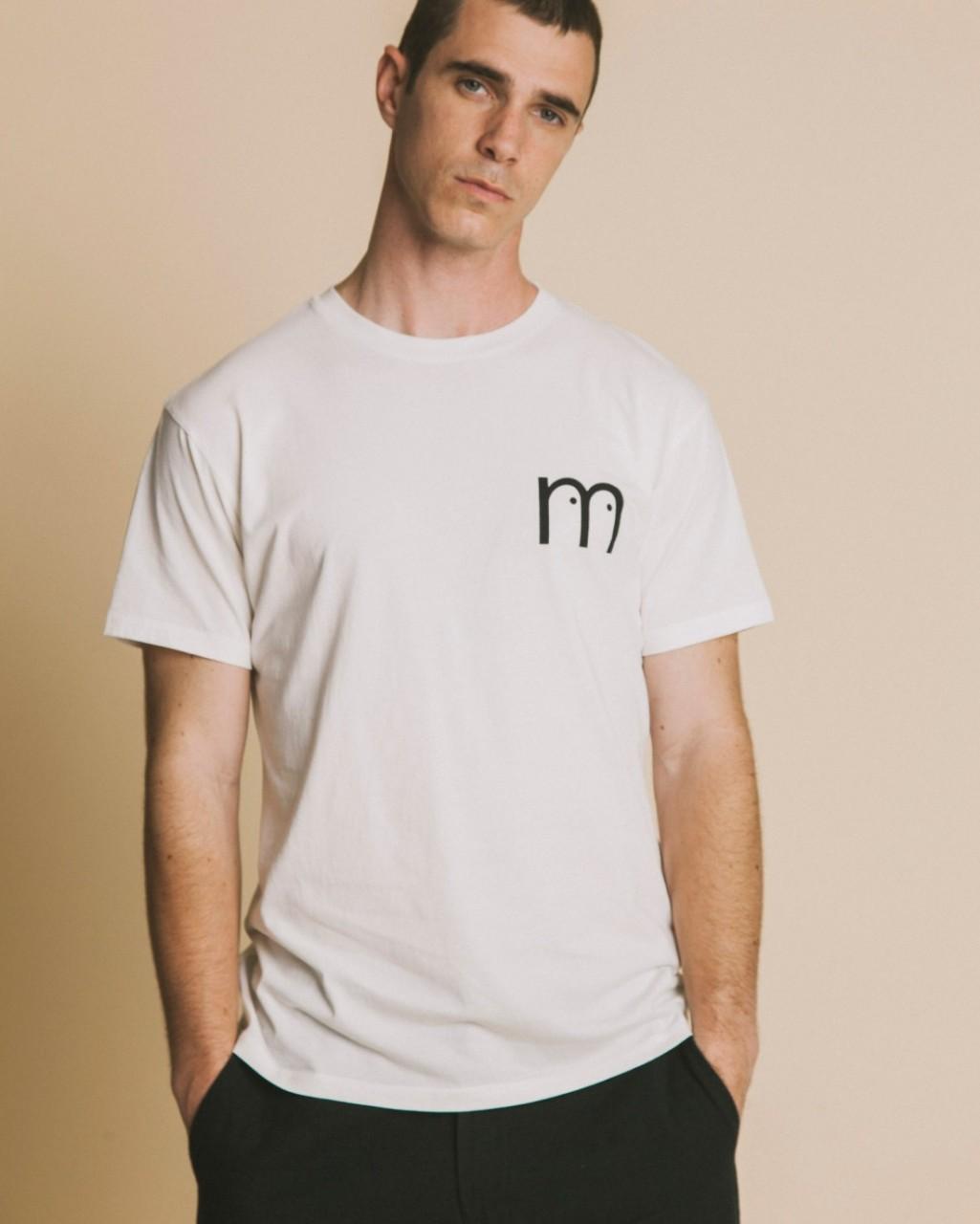 M EYES WHITE T-SHIRT SNOW WHITE