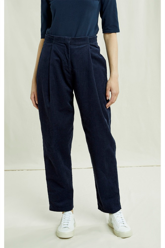 Ensley Corduory Trousers navy