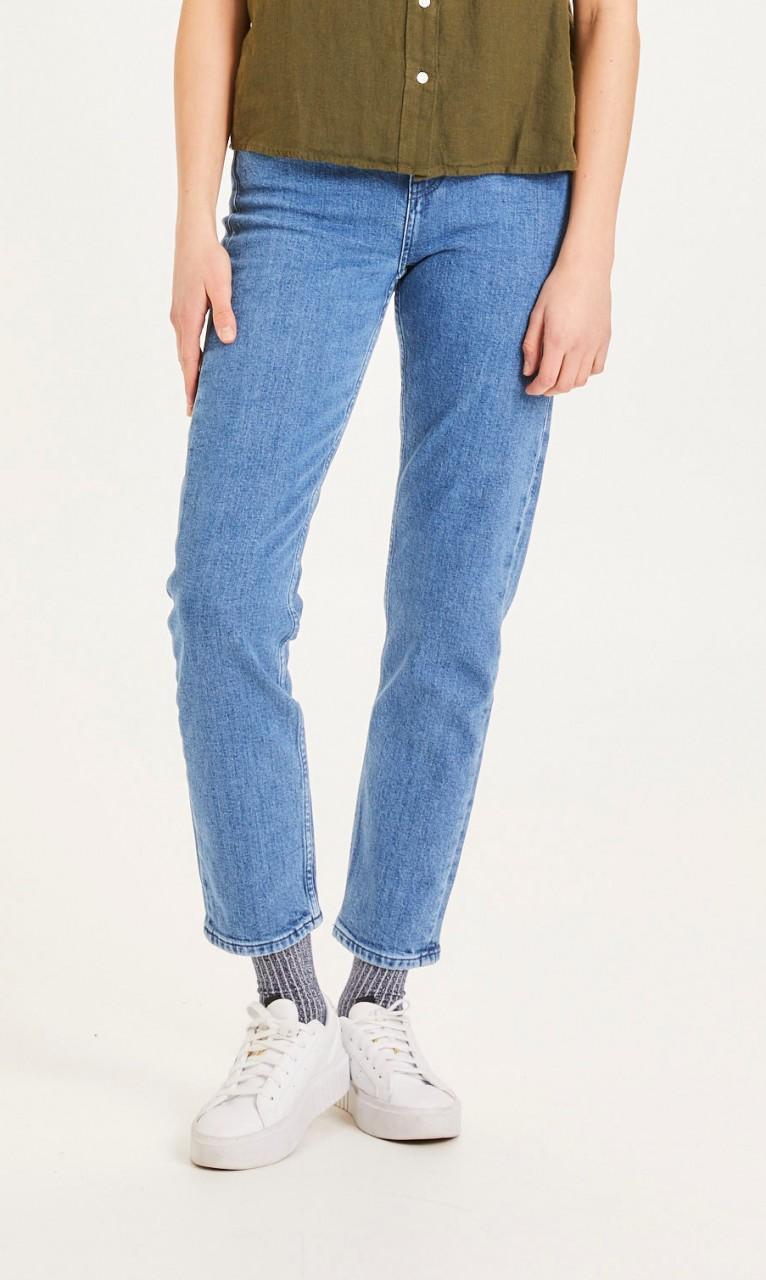 IRIS mom jeans - Vegan Light blue
