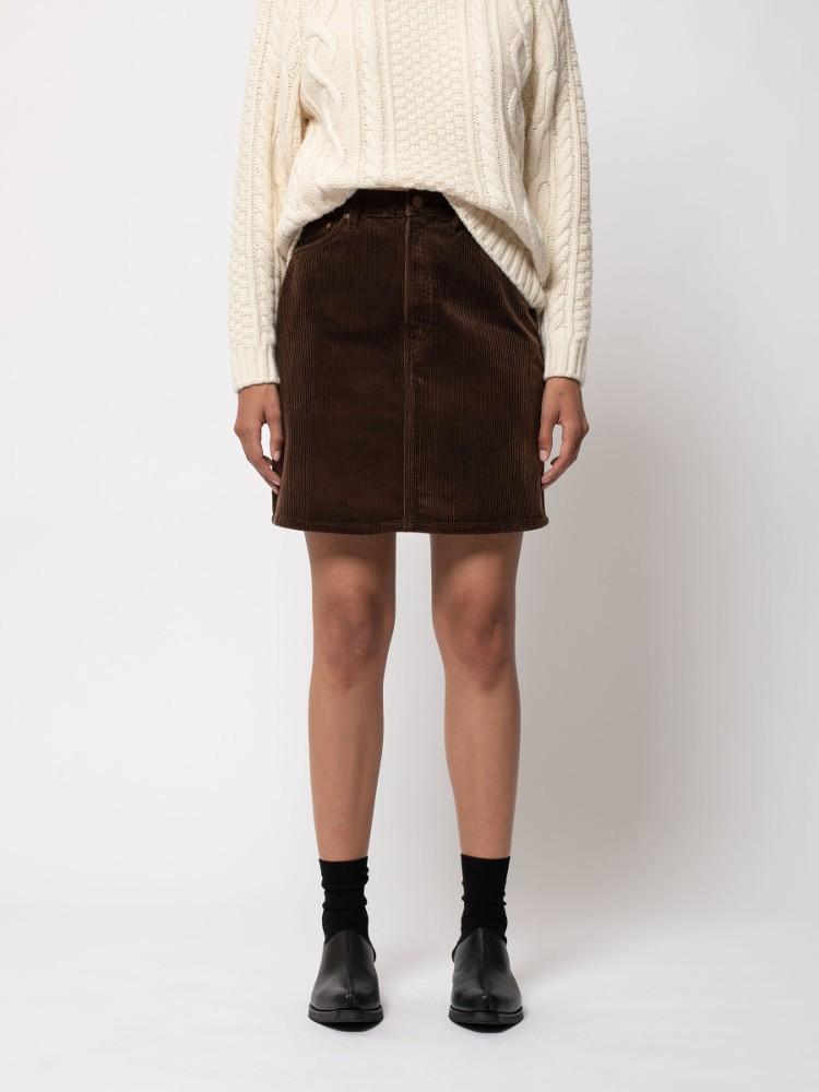Hanna Skirt Cord Brown
