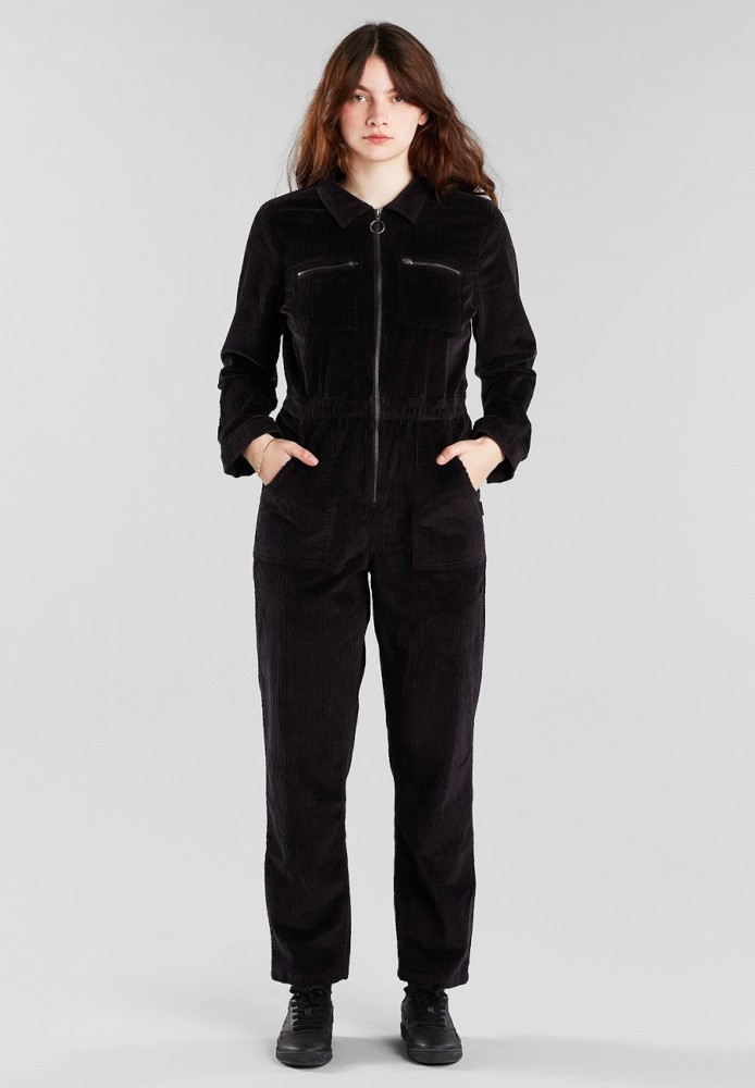 Overall Hultsfred Corduroy Black