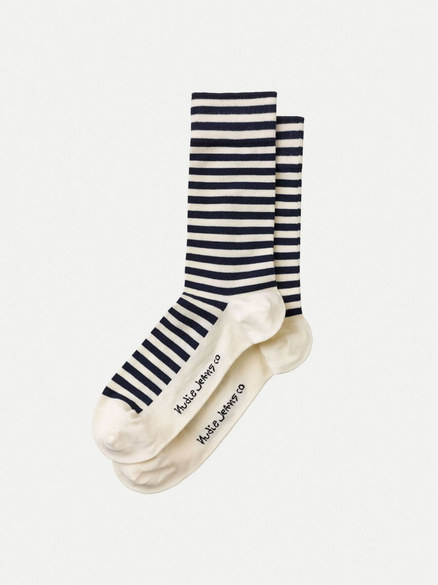 Olsson Breton Stripes Offwhite/Navy