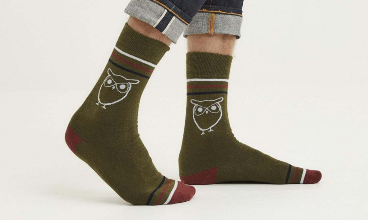 LINDEN 2-pack owl socks Forrest Night