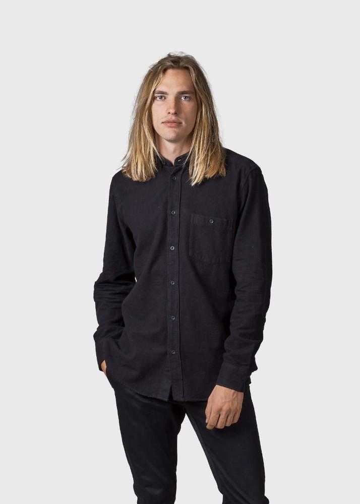 Benjamin flannel shirt Black