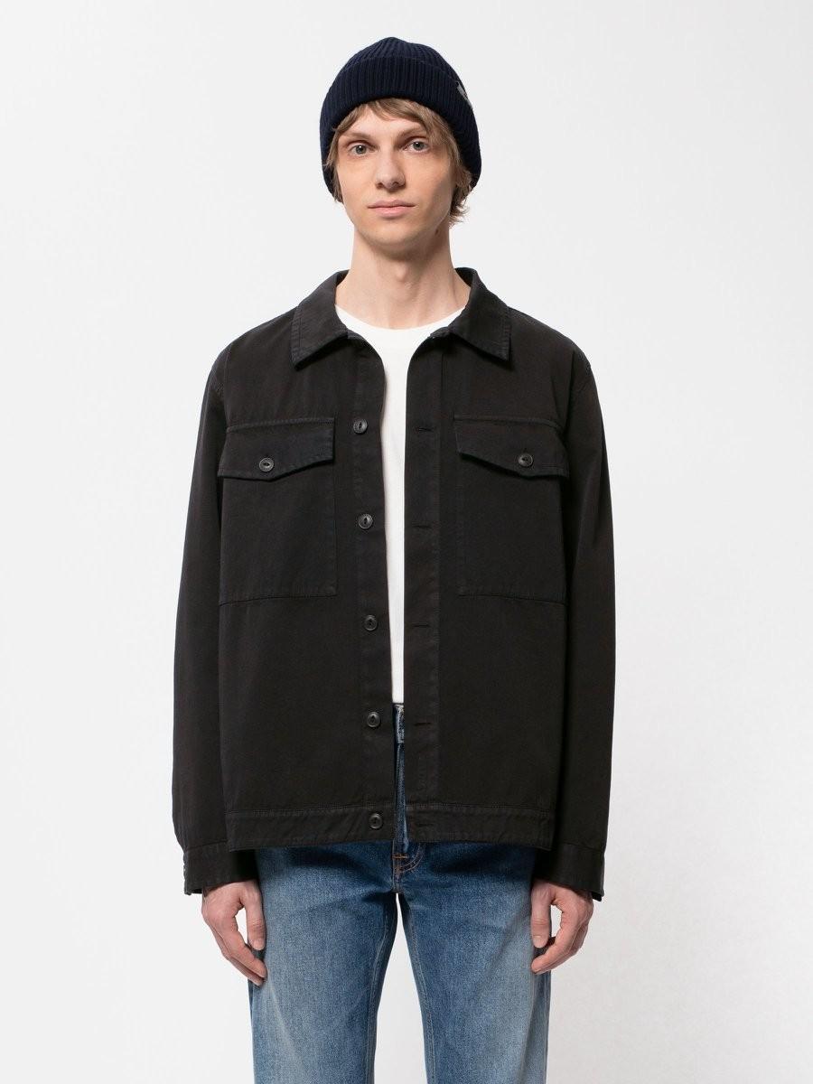 Colin Utility Overshirt Black