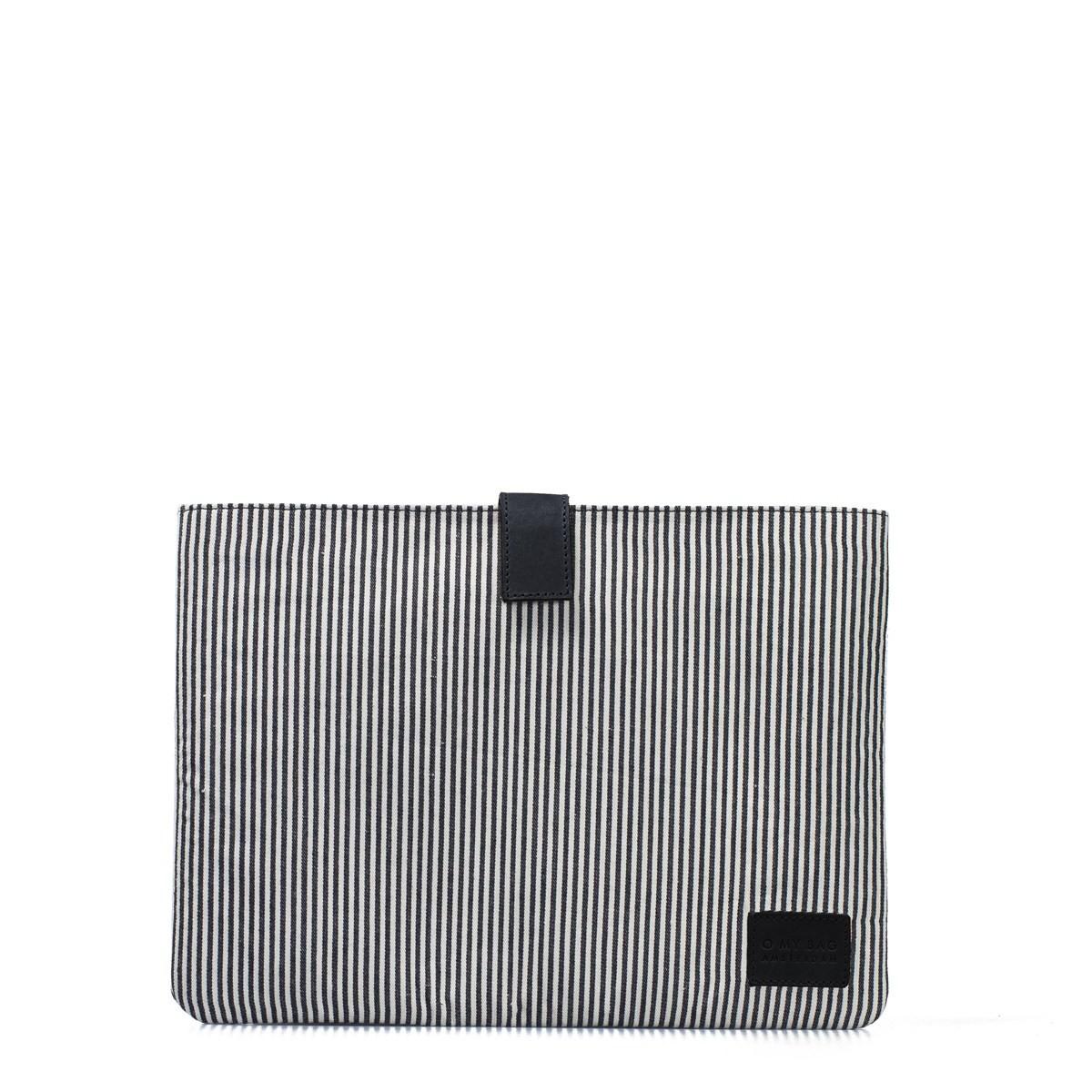 "Laptop Sleeve 13"" Cotton/Eco-Black"