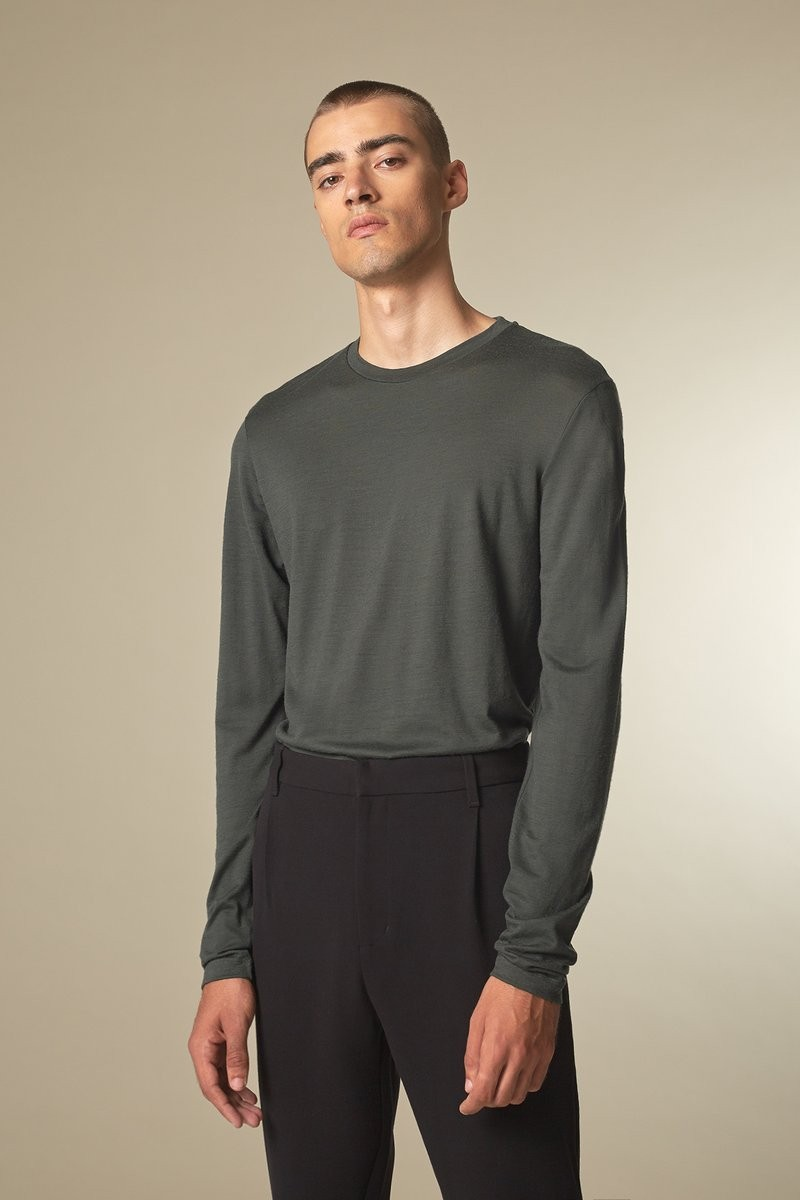 CORE Merino dark green