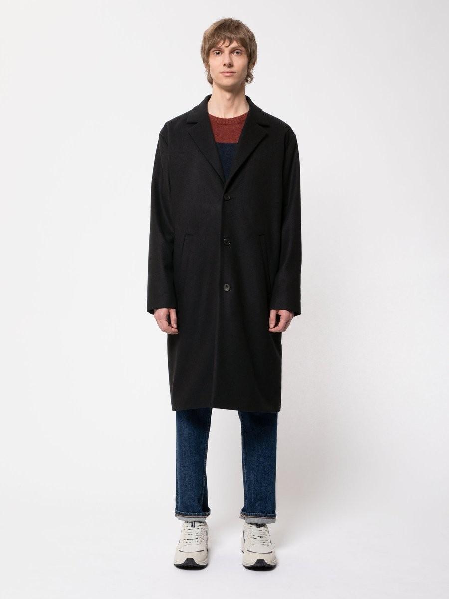 Ruben Deconstructed Coat Black