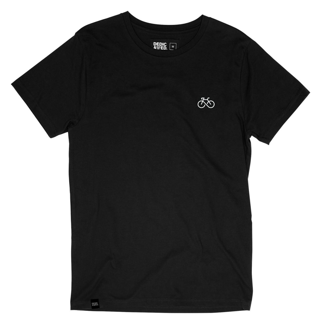 T-shirt Stockholm Infinity Bike Black