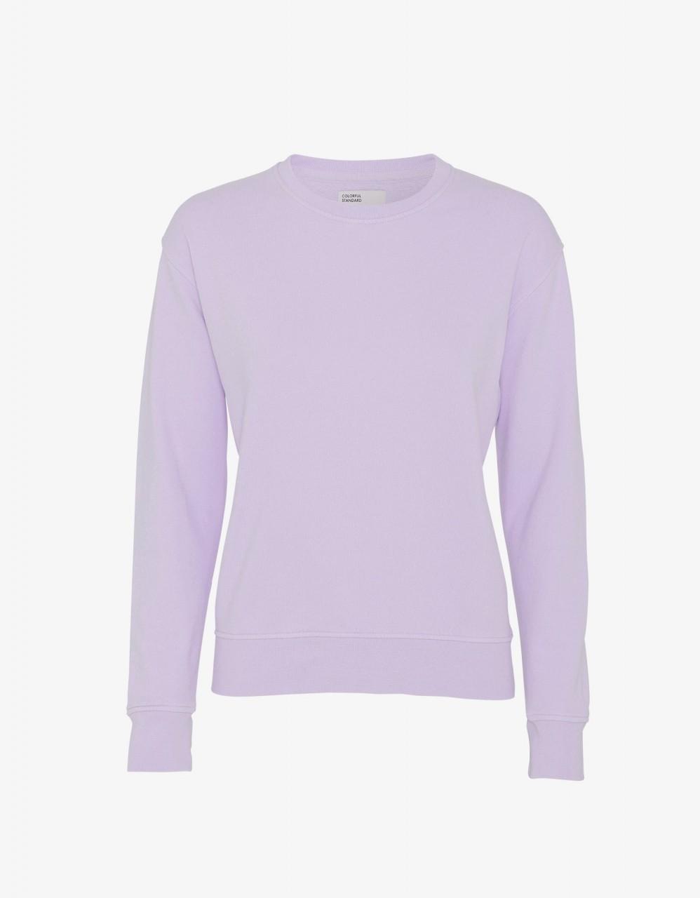 Women Classic Organic Crew Soft Lavender