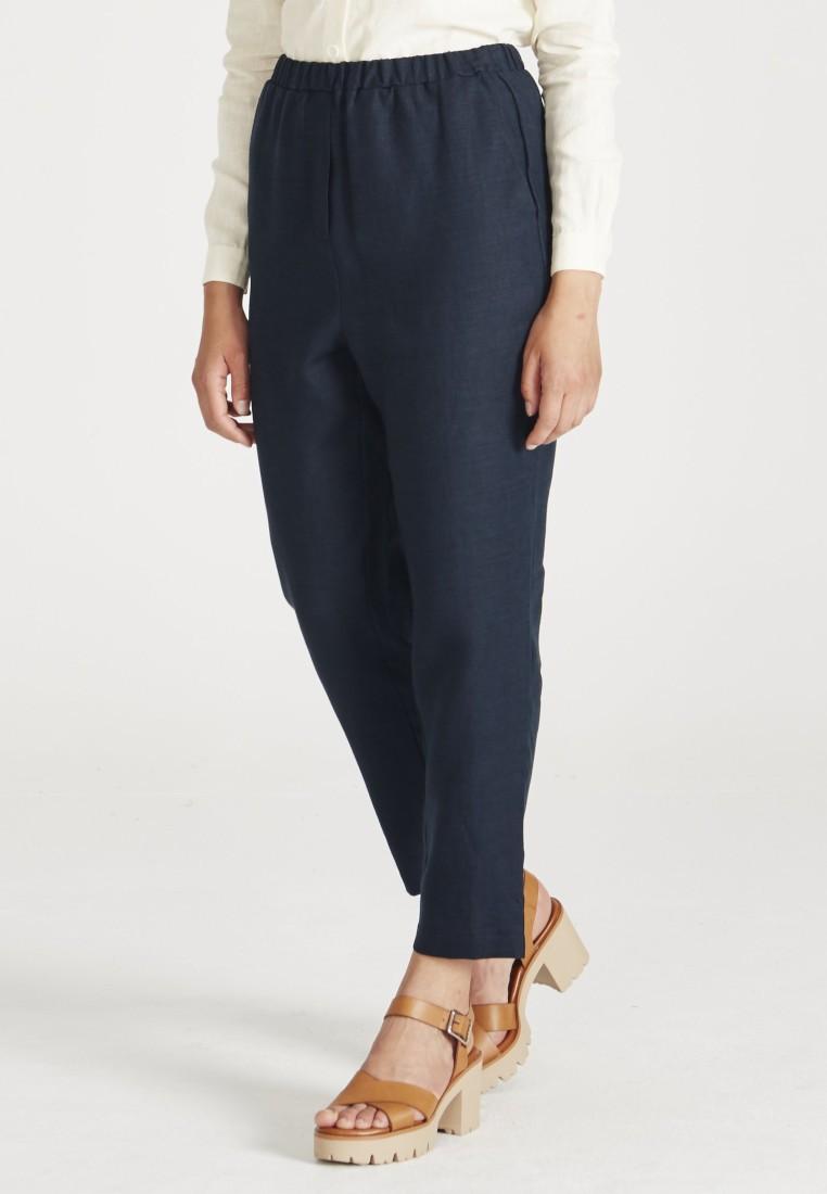 Elisa Trousers Midnight Blue