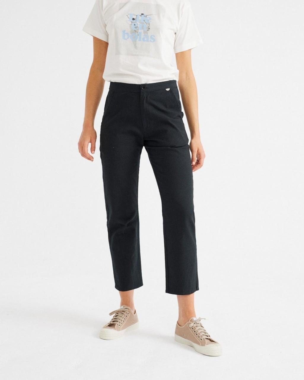 BLACK DAPHNE PANTS