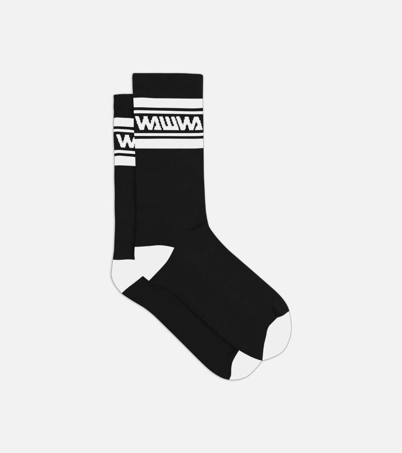 Socks Black/White Organic Sport