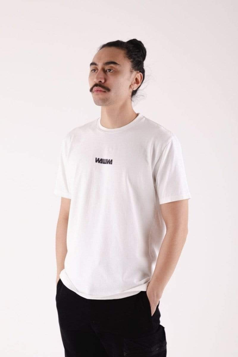 Basic Logo Short Sleeve White