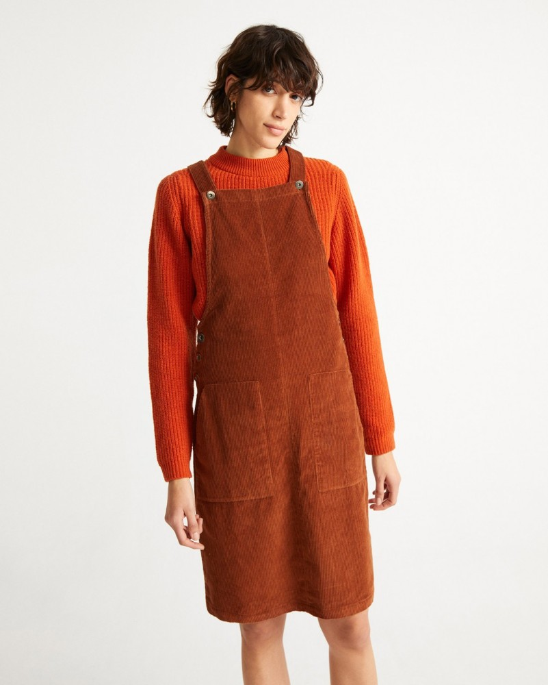 CLAY RED BELL DRESS
