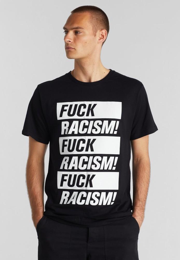 T-shirt Stockholm Fuck Racism