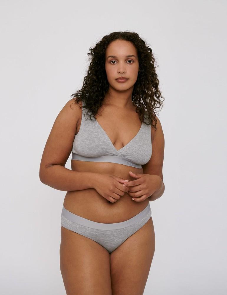 TENCEL Lite Briefs 2-pack Grey Melange