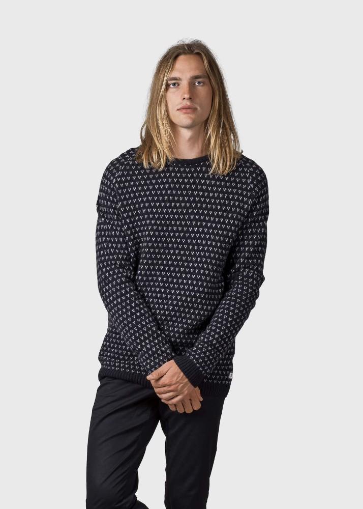 Hugo knit Black/light grey