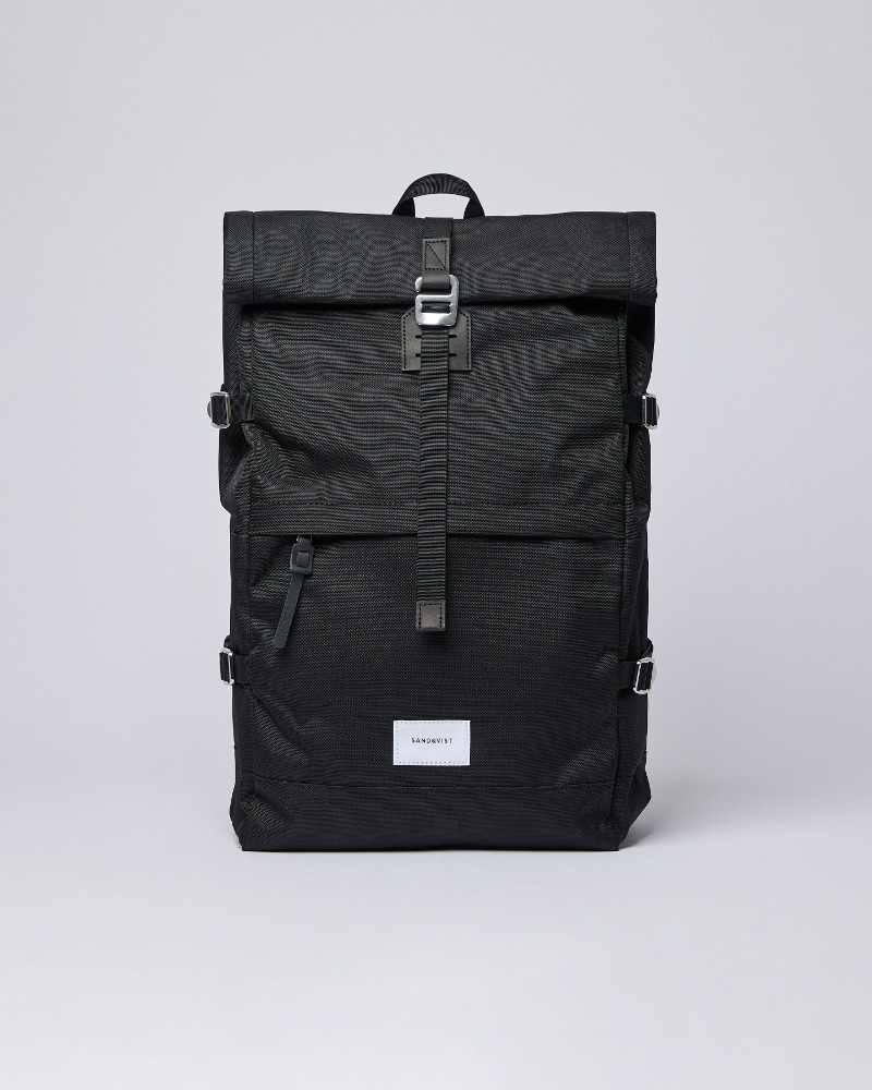 BERNT Black with Black Leather