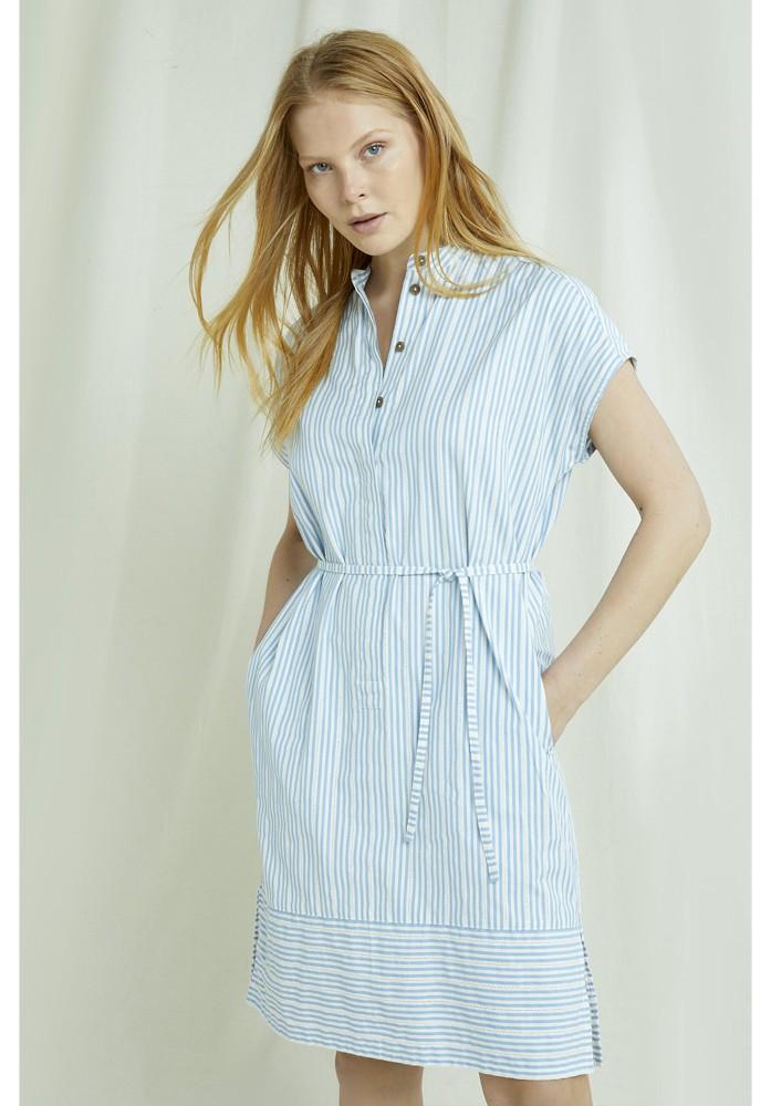 Hema Stripe Dress blue