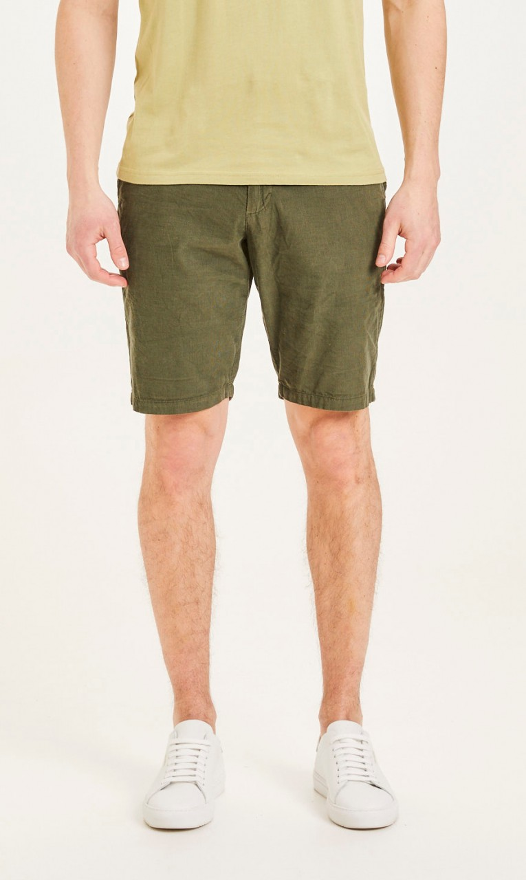 CHUCK baby cord shorts Forrest Night