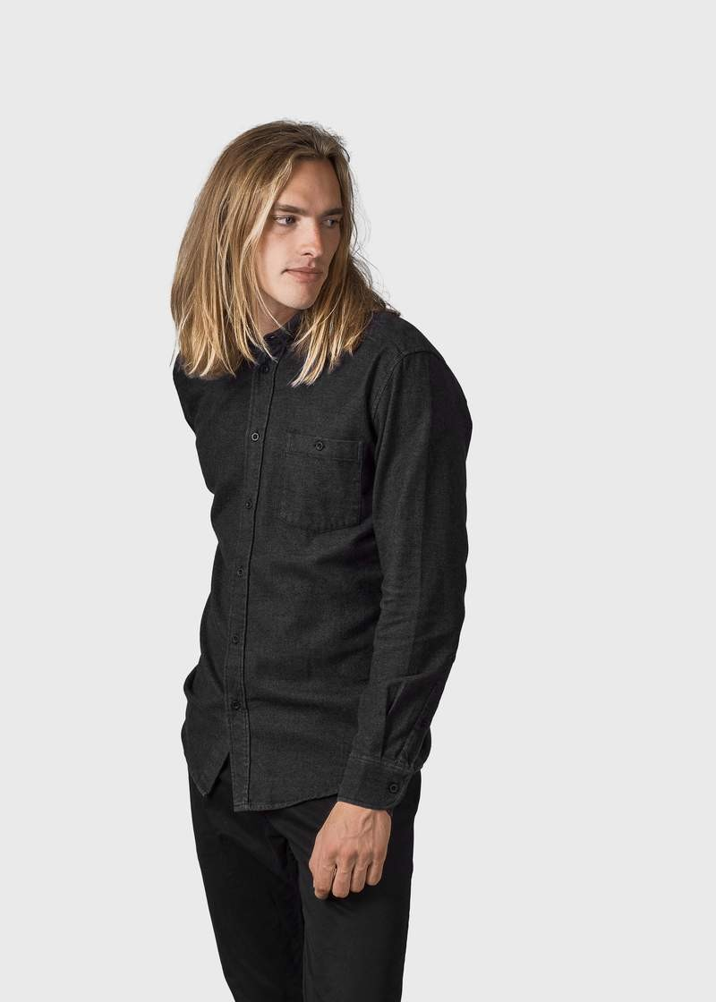 Benjamin lumber shirt black