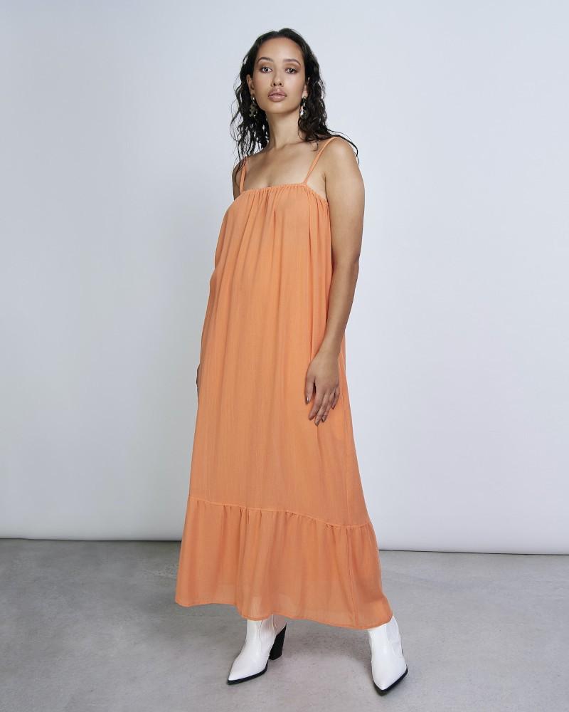 LEONIE dress papaya