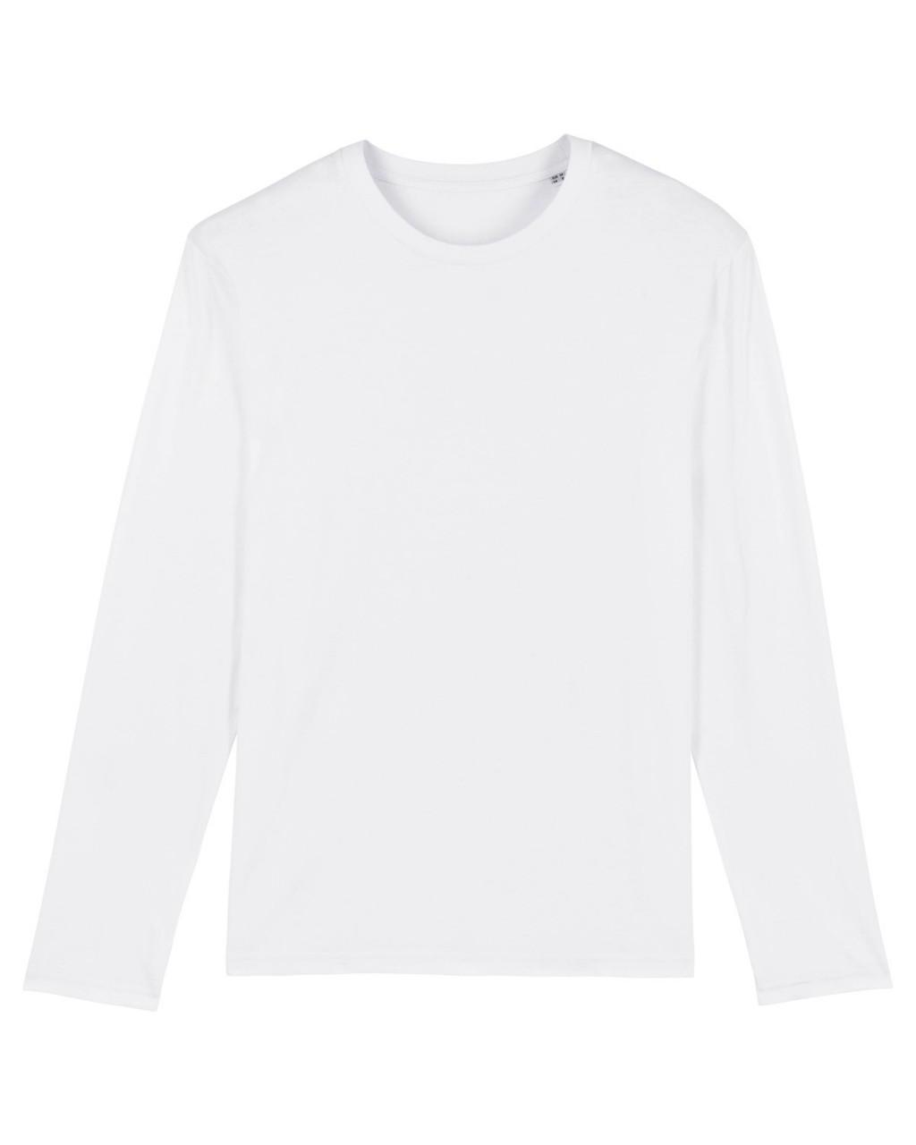 MS Regular Fit Longsleeve white