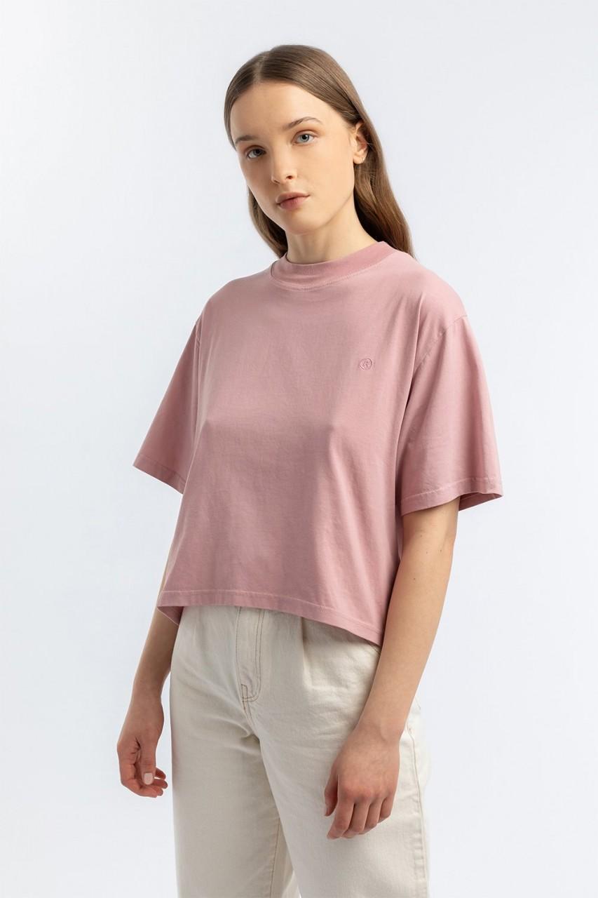 Cropped T-Shirt lavander