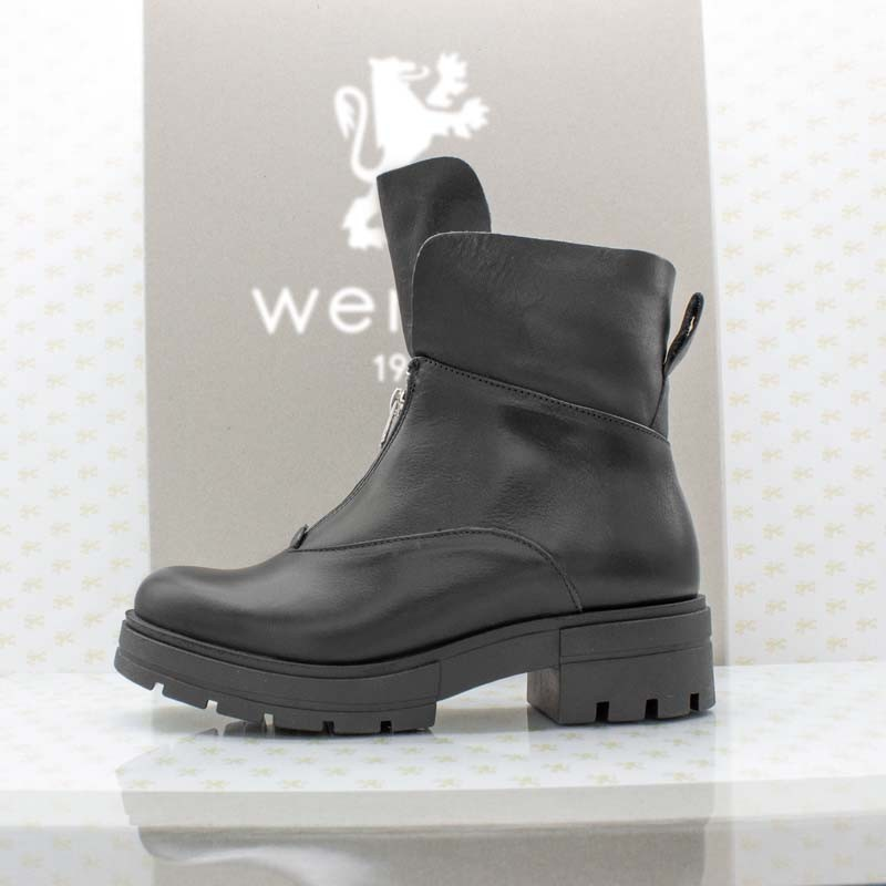 Wernebi Nappa RV-Stiefelette schwarz