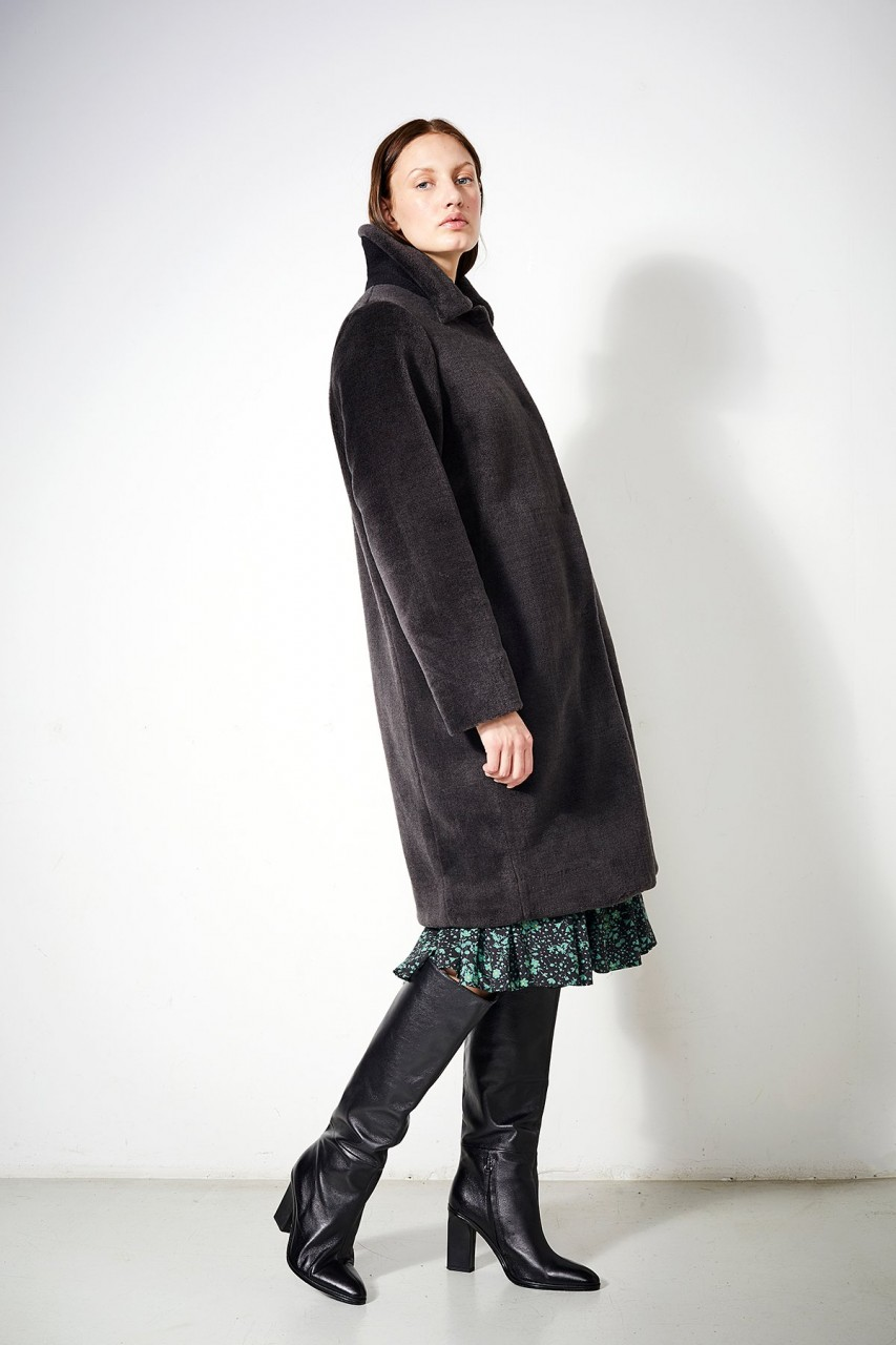 Coat Clovelly chinchilla