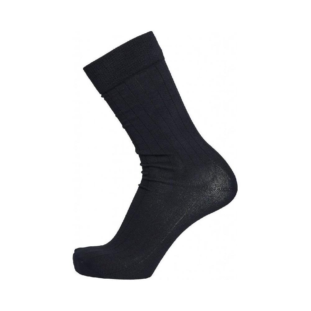 LINDEN 4 pack solid color sock - Vegan Total Eclipse