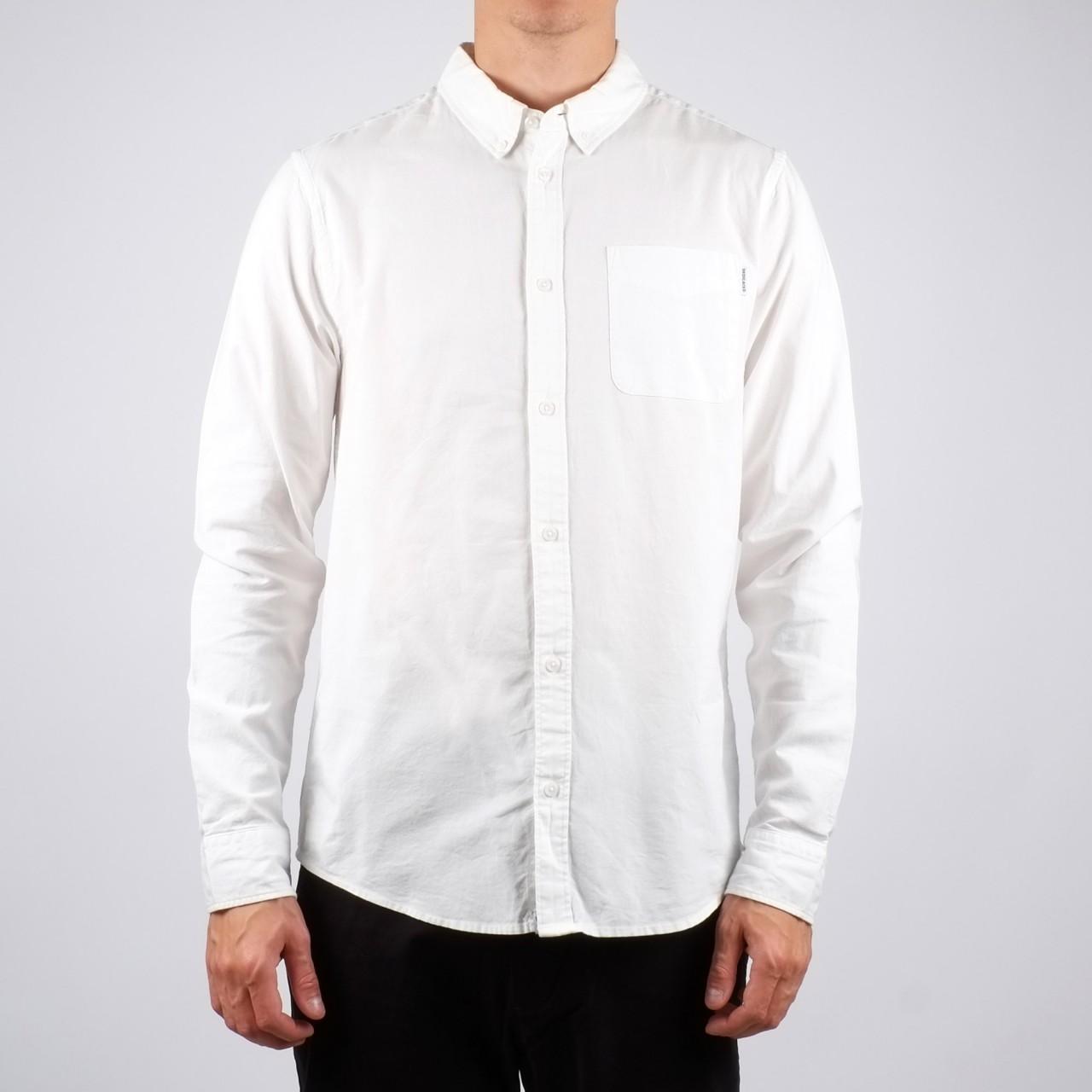 Varberg Shirt Plain Off White