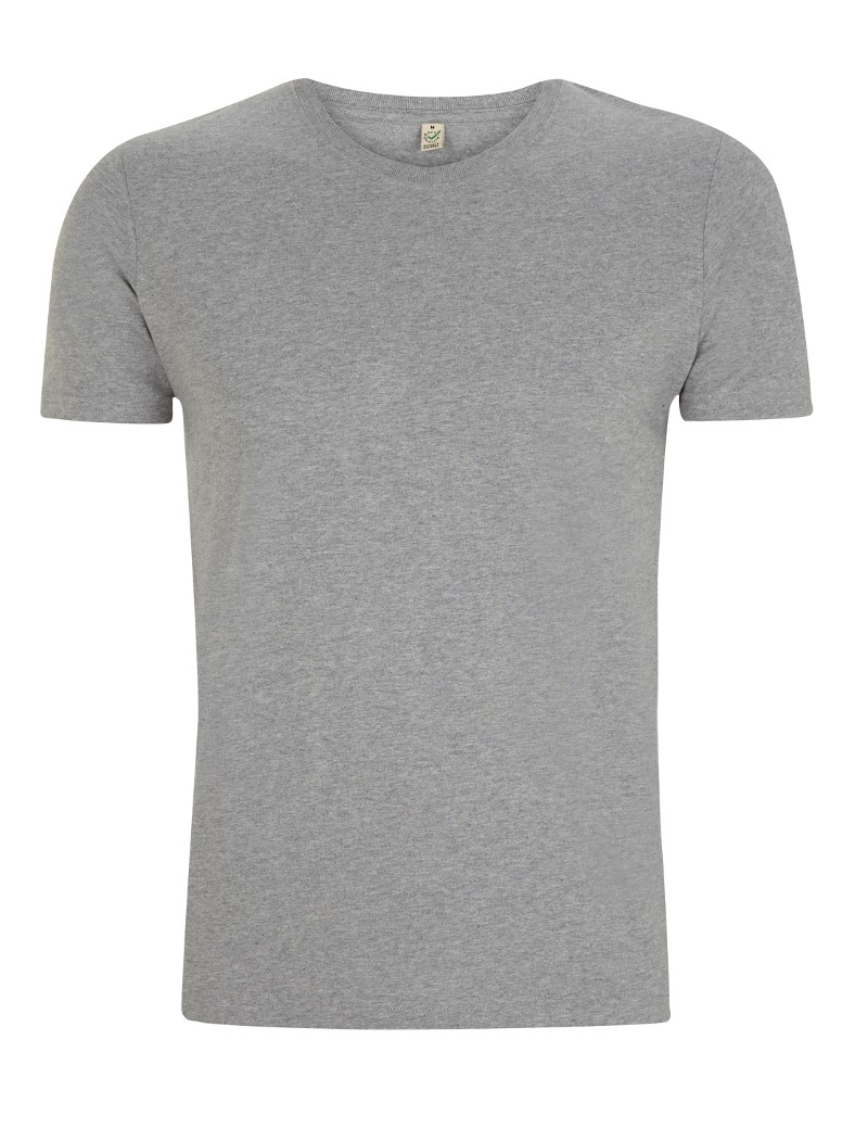 Earth Positive Ms Slim-Fit T-Shirt melange grey