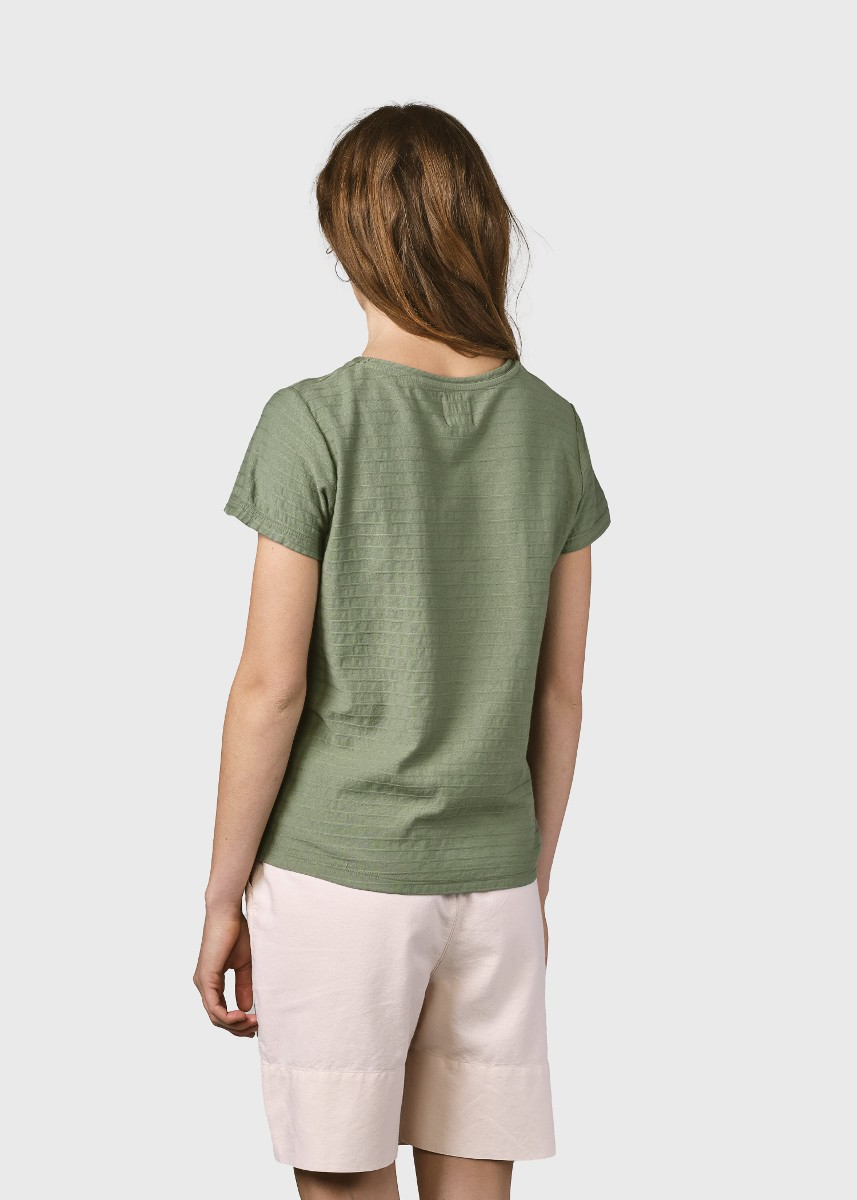 My tee Pale green