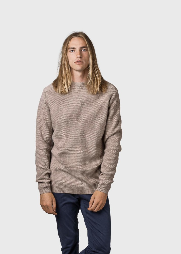 Frede knit Sand