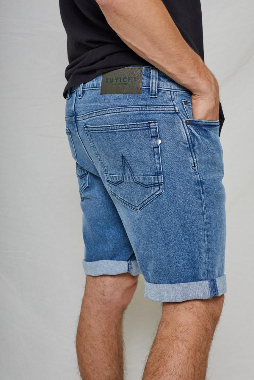 Jeff Denim Short Vintage Blue